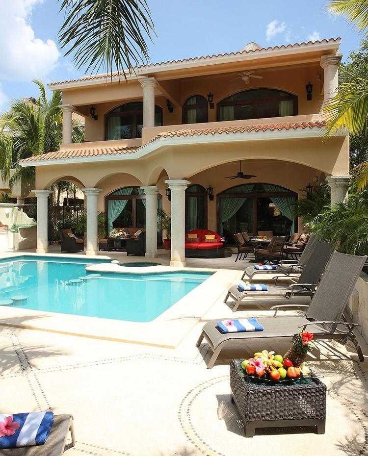 Renta de villas en cancun casas de vacaciones en canc n for Casas en renta en cancun